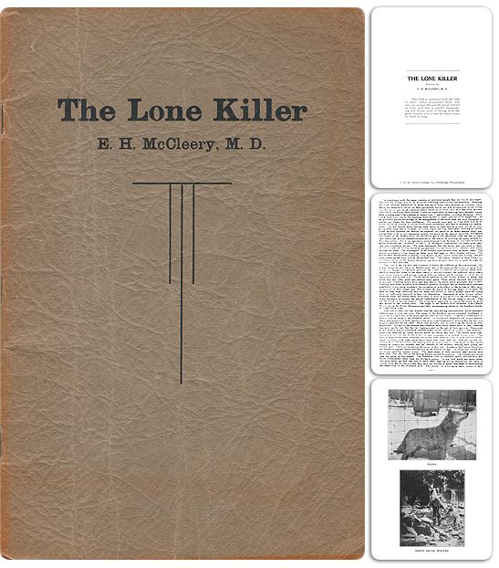 The Lone Killer, written by Dr. E. H. McCleery