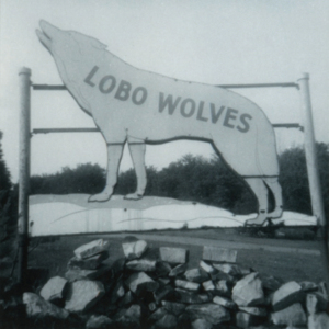 Lobo Wolves Sign at the Lobo Wolf Park near Kane [Photograph]