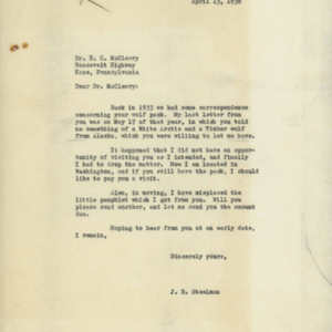 1938 Letter from J. R. Steelman to Dr. E. H. McCleery.jpg